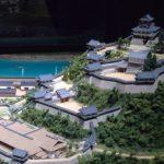 犬山城のジオラマ